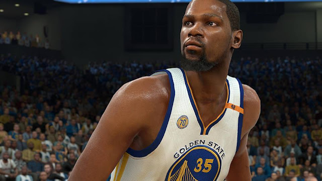 Kevin Durant Updated Cyberface [FOR 2K17] - NBA 2K Updates, Roster Update, Cyberface, Etc