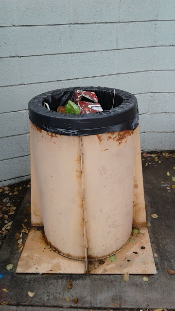 Full Garbage Can