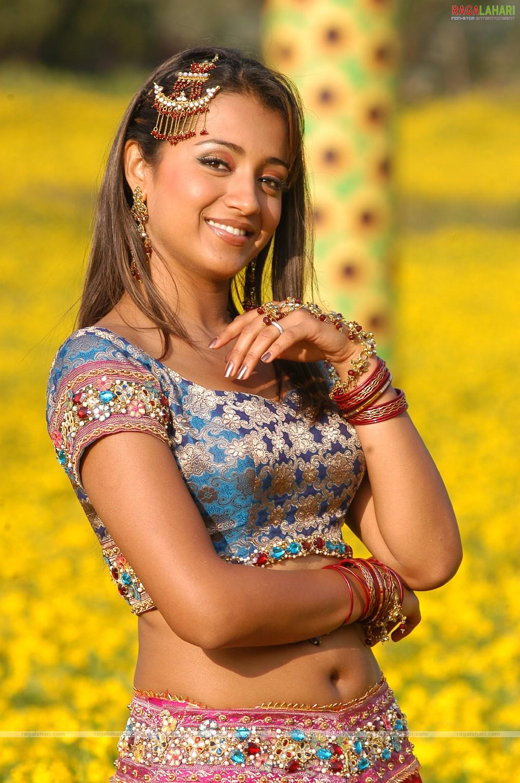 Sexy Pics Tamil Actress Trisha Navel Closeup Hd Pics -3822