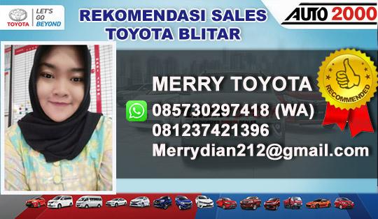 Rekomendasi Sales Toyota Auto2000 Blitar Jawa Timur