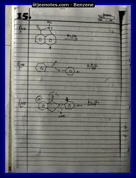 Benzene Notes-CHEMISTRY5