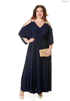 f229284948 Vestidos de noche Talla Xl. Vestuario de noche largo para mujeres gorditas
