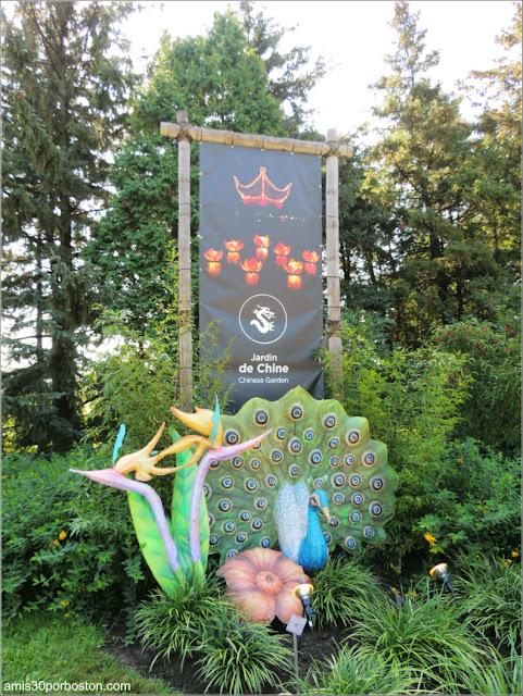 Jardín Chino en el Jardín Botánico de Montreal
