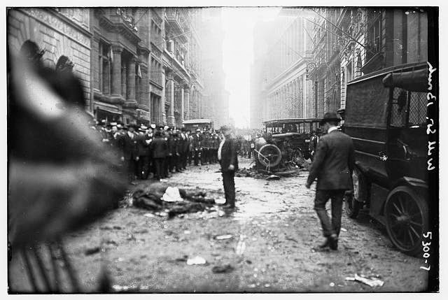 Old Pictures of Wall Street bombing in 1920  vintage everyday