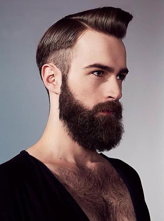 Krugs Studio Beards Hair A Short History Of Mens Facial And
