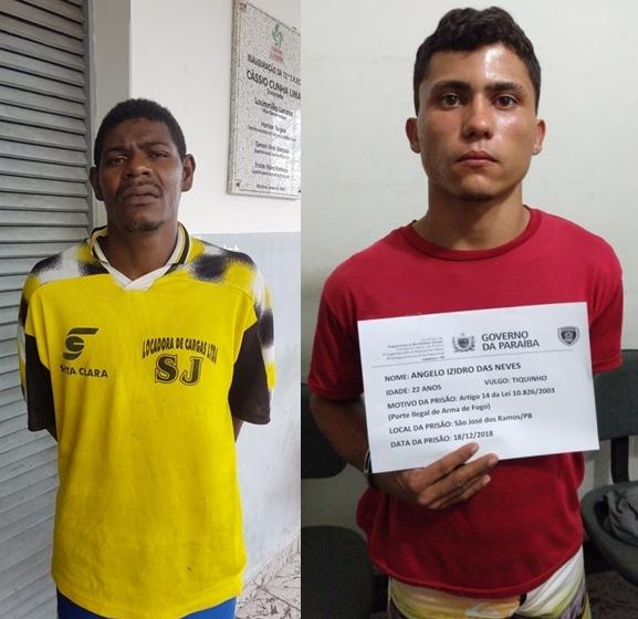 SÃO JOSÉ DOS RAMOS: Polícia prende envolvidos em duplo homicídio da cidade de São José dos Ramos.
