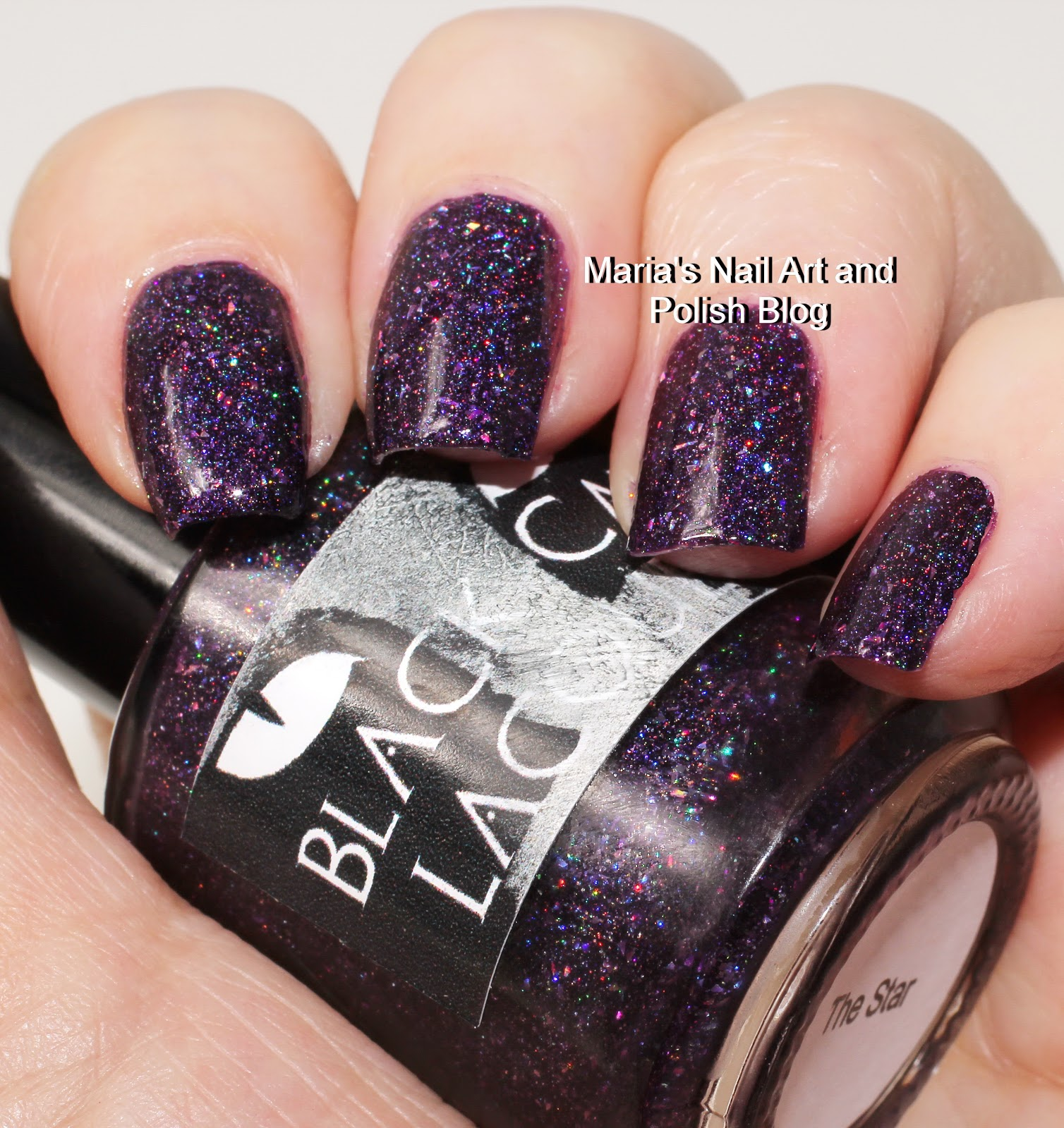 Marias Nail Art And Polish Blog Flushed With Stripes And: Marias Nail Art And Polish Blog: Black Cat Lacquer The