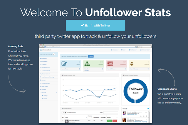 [FREE] Unfollower Stats - Track & unfollow your unfollowers