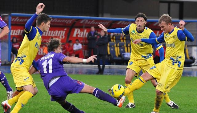 Chievo Verona vs Fiorentina en vivo