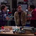 Quem não curtiu essa Cena de The Big bang Of Theory