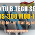 Note for Principles of Management HS300 Module-2