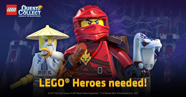 "Nexon Launches Mobile Role-Playing-Game ""LEGO® Quest & Collect"" in Korea and the Asia regions"
