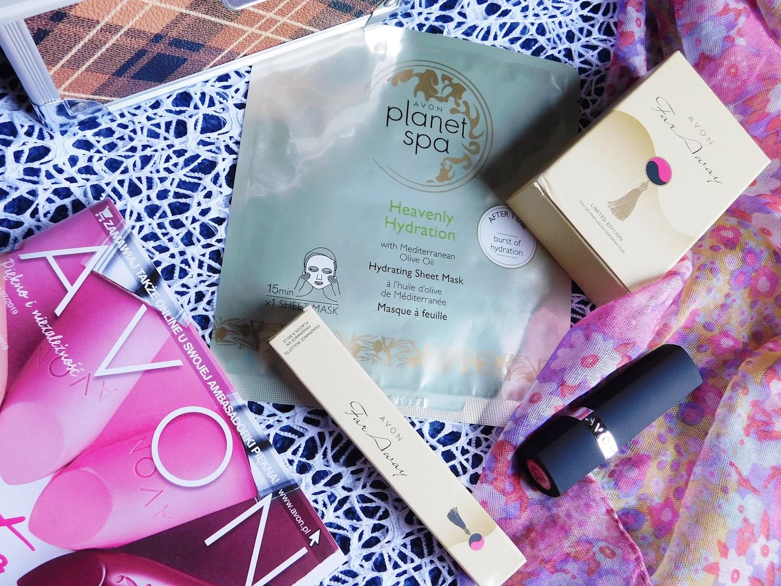 Maseczka w płachcie, perfumy, szminka - czyli nowości i hity od Avon!