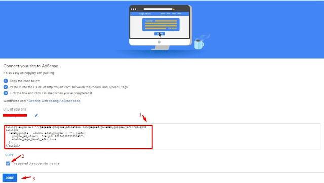 Cara memasang unit iklan dalam HTML Template blog