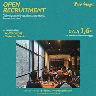 Lowongan Kerja Customer Service dan Telemarketing di Bobomanja - Surakarta (Gaji 1,6 Juta / Bulan + Tunjangan Kesehatan)