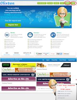 Screenshot 2016 11 14 07 42 37 Cara mudah mendapatkan uang gratis dengan klik iklan di Clixten