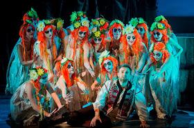 Mikhail Shepelenko & ensemble  - Rimsky Korsakov May Night - Royal Academy Opera - photo Robert Workman