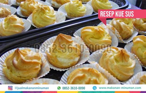 Resep Kue Sus