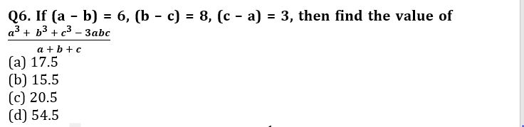 Algebra Questions for SSC CGL TIER-2 , SSC Stenographer & IB (ACIO) 2017_160.1