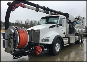 Pierce County Kenworth T880 Vactor Truck
