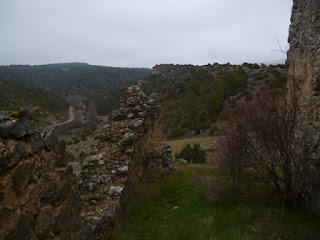 Castillo de Arbeteta. Entrada