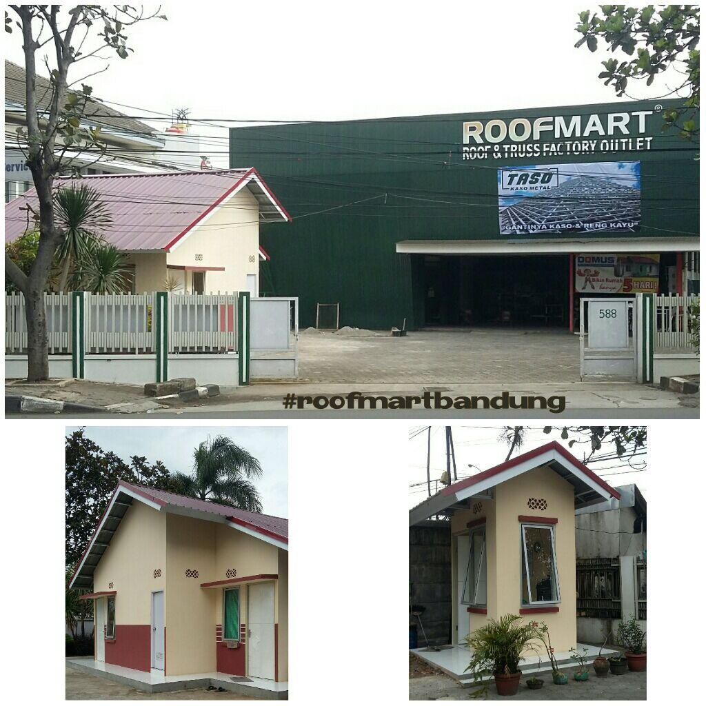 Roofmart Bandung Type Domus Rumah Instan Berikut Contoh Desain 2