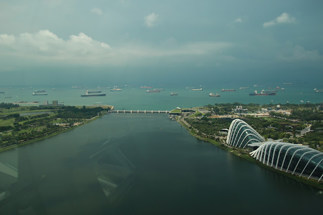 landscape view of singapore