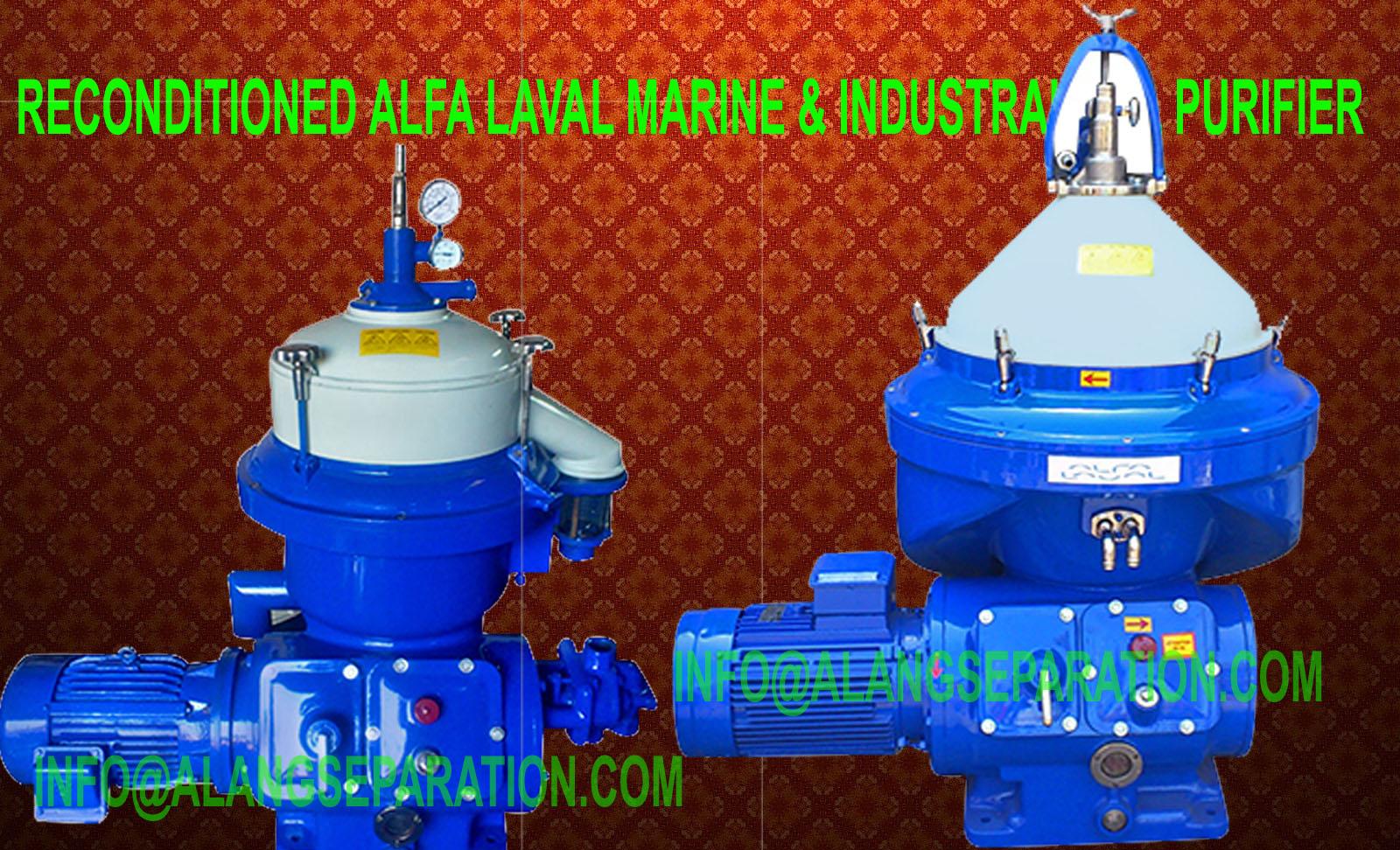 Alfa Laval HFO purifier, LO purifier, DO purifier, Alfa Laval separator  spares, FOPX-605, FOPX-609, FOPX-610, FOPX-613
