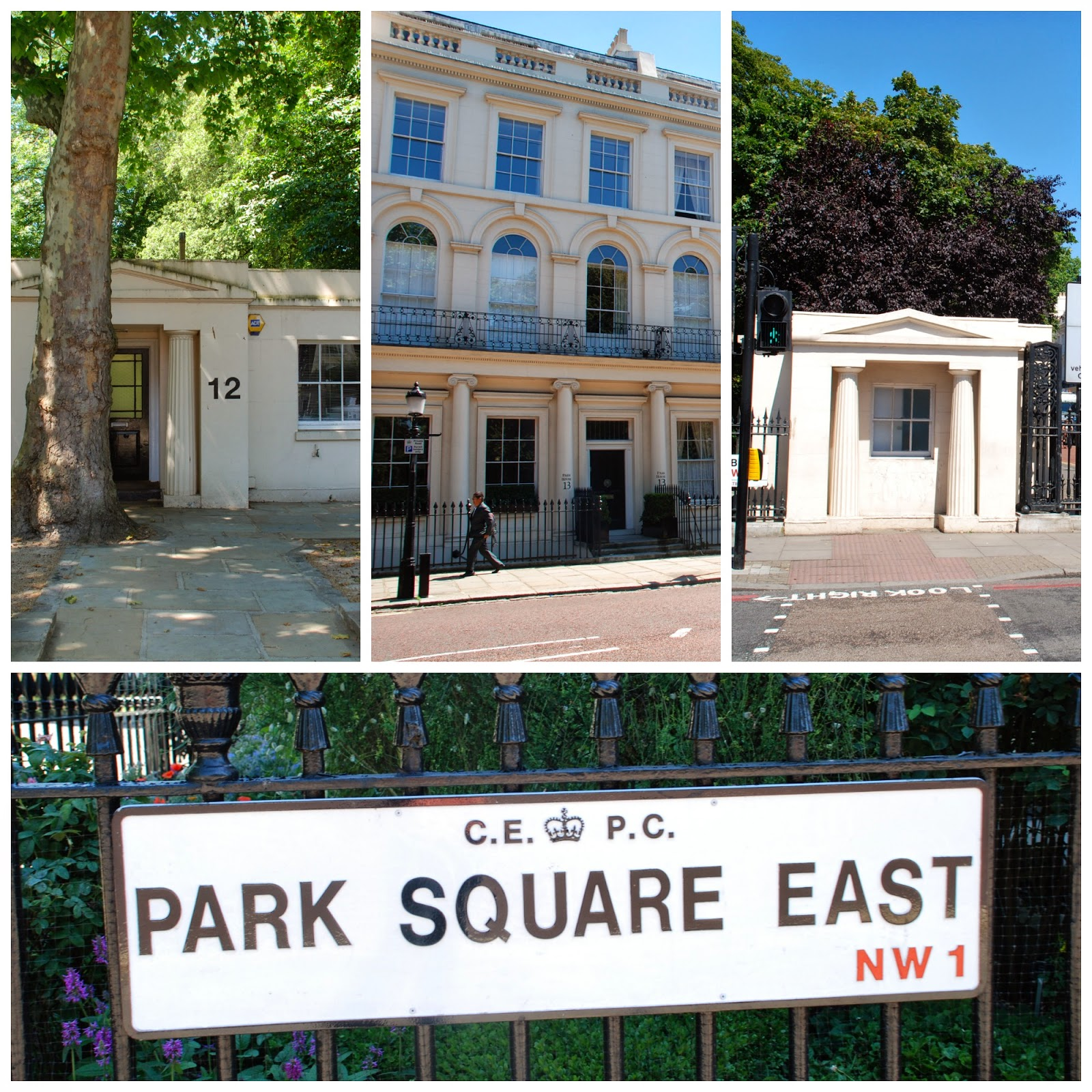 Park Square East, London