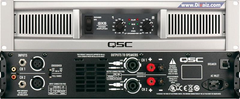 Power Amplifier QSC_GX5 - www.divaizz.com
