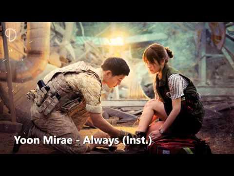 Always Yoon Mi Rae – Sountrack Descendants of the Sun Terjemahan Bahasa Indonesia
