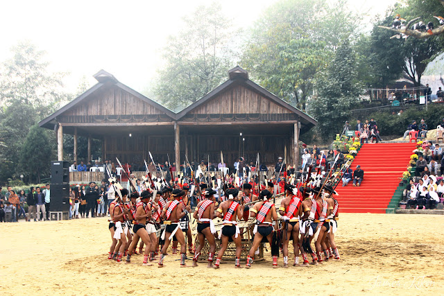 Nagaland Photos Lotha Naga tribe traditional dress spear hornbill festival nagaland 3