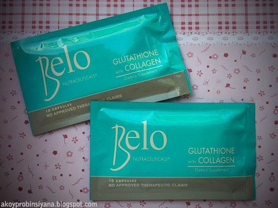 Pack of Belo Glutathione Capsules