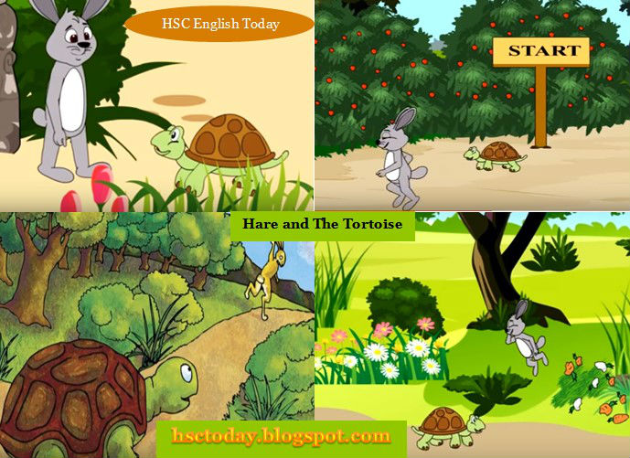 The Hare And Tortoise Story Completing Story In Short Hsc
