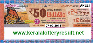 KERALA LOTTERY, kl result yesterday,lottery results, lotteries results, keralalotteries, kerala lottery, keralalotteryresult, kerala lottery result, kerala lottery result live,   kerala lottery results, kerala lottery today, kerala lottery result today, kerala lottery results today, today kerala lottery result, kerala lottery result 07-02-2018, Akshaya   lottery results, kerala lottery result today Akshaya, Akshaya lottery result, kerala lottery result Akshaya today, kerala lottery Akshaya today result, Akshaya kerala lottery   result, AKSHAYA LOTTERY AK 331 RESULTS 07-02-2018, AKSHAYA LOTTERY AK 331, live AKSHAYA LOTTERY AK-331, Akshaya lottery, kerala lottery today   result Akshaya, AKSHAYA LOTTERY AK-331, today Akshaya lottery result, Akshaya lottery today result, Akshaya lottery results today, today kerala lottery result   Akshaya, kerala lottery results today Akshaya, Akshaya lottery today, today lottery result Akshaya, Akshaya lottery result today, kerala lottery result live, kerala lottery   bumper result, kerala lottery result yesterday, kerala lottery result today, kerala online lottery results, kerala lottery draw, kerala lottery results, kerala state lottery today,   kerala lottare, keralalotteries com kerala lottery result, lottery today, kerala lottery today draw result, kerala lottery online purchase, kerala lottery online buy, buy kerala   lottery online