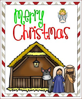 Nativity Christmas Cards - Printable