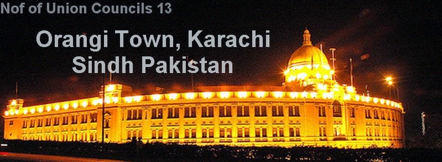 Orangi Town, Karachi Sindh Pakistan   Shehar-e-Karachi ...