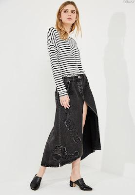 Faldas Largas Modernas