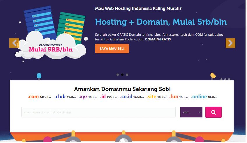 Review Domain Dan Hosting Murah JagoanHosting
