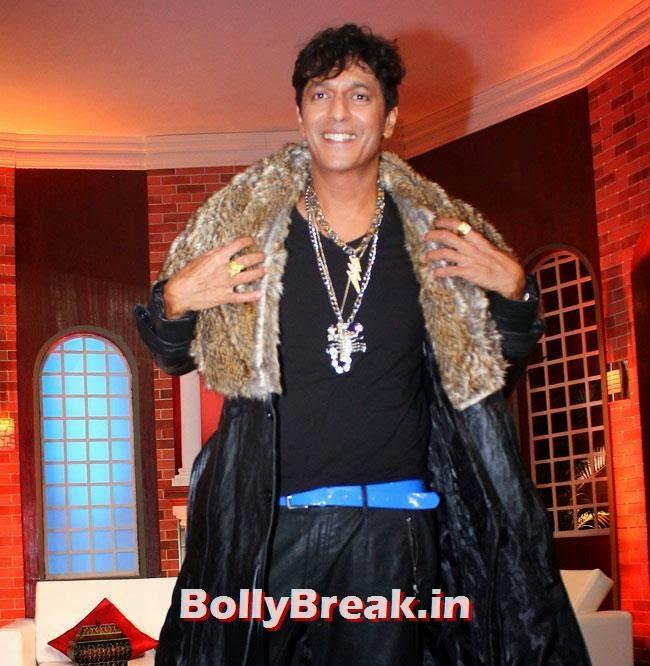 Chunky Pandey, Esha & Tamanna Promote Humshakals at Humshakal Hasee House