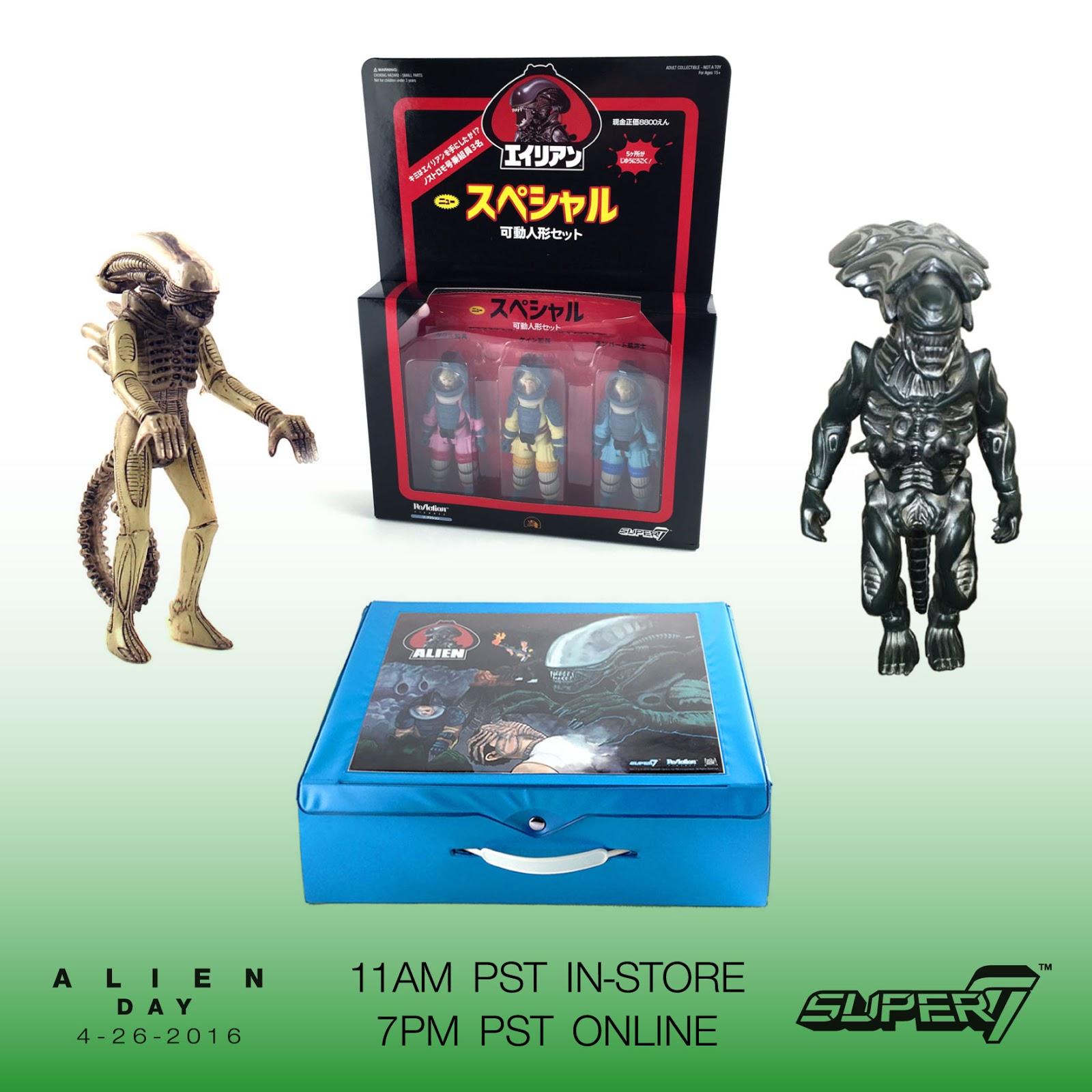 "Super 7"" reveals his alien-news for ""Alien Day""   ULTRAMUNDO"