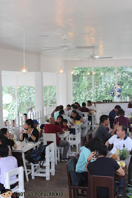 Canto's interior in Baguio