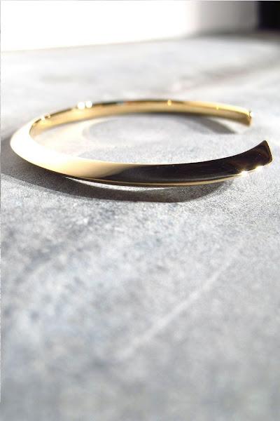 Louise Hendricks bijoux jonc doré