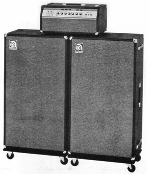 the unique guitar blog the ampeg bass amplifiers. Black Bedroom Furniture Sets. Home Design Ideas