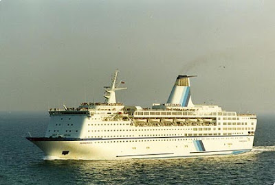 Regal looking Scandinavia in Happier Days.Viking Serenade, Stardancer, Island Escape, Ocean Gala