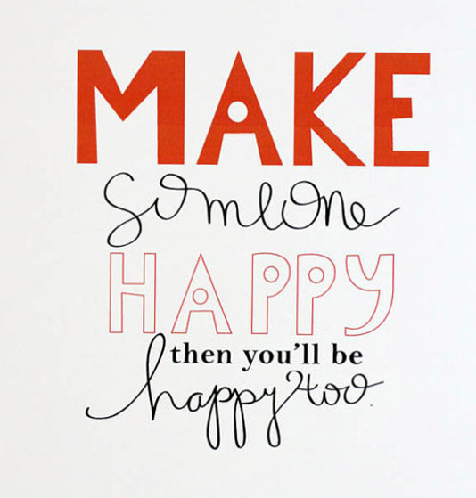 To Make Others Happy Quotes: Inspiration By LeeAnne Locken: May 2013