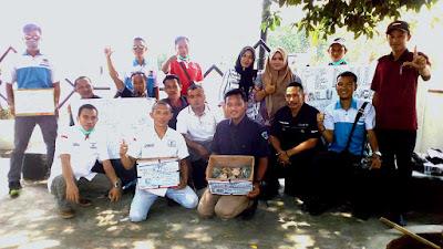 Jurnalis dan LPAI Lampung Timur Galang Dana Korban Gempa Bumi dan Tsunami di Donggala dan Palu