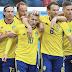 Goles - Suecia 1-0 Suiza