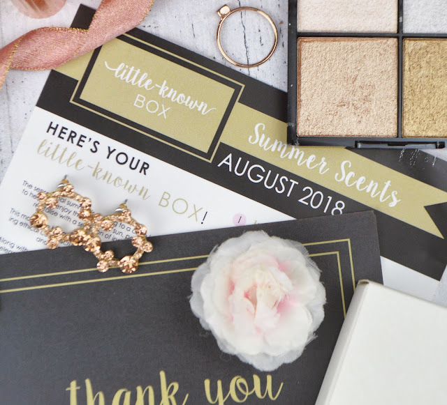 Little Known Box August 2018 Review, Lovelaughslipstick Blog