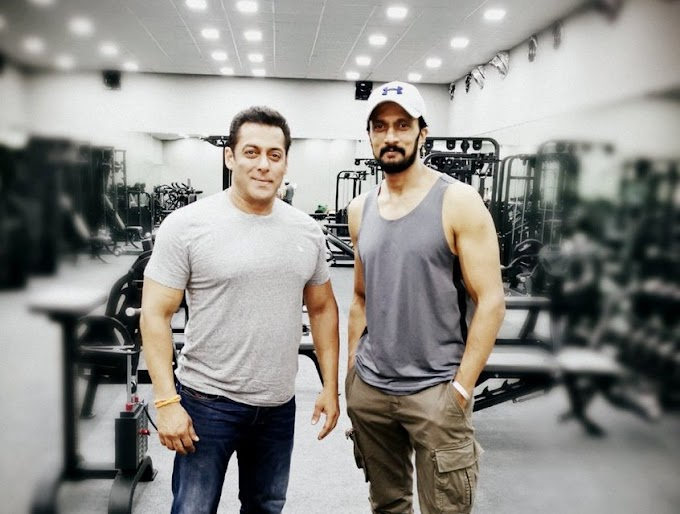 Salman Khan to Fight Shirtless with Kichcha Sudeep in Dabangg 3 Climax!!